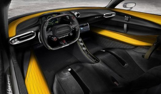 supercarros hennessey venom f5 interior