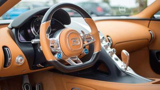 super carros interior bugatti chiron