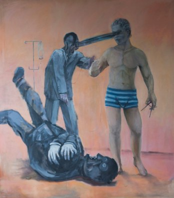 Second-Coming-of-the-Holy-Trinity-2013-oil-on-linen-180x160-cm1