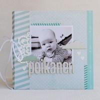 Vauva-albumi kastelahjaksi