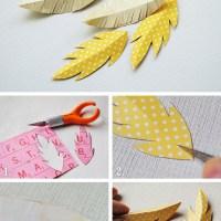 Paperihöyhen-tutoriaali