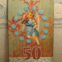 50v synttärikortti