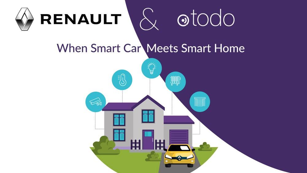 IoT : Otodo lève 3 millions et connecte Renault à la maison – Les Échos