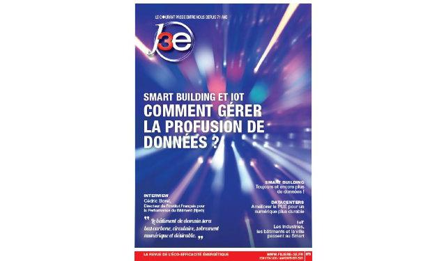 J3e Janvier/Février – Smart Building et IoT gérer la profusion de données ? – Filière 3E