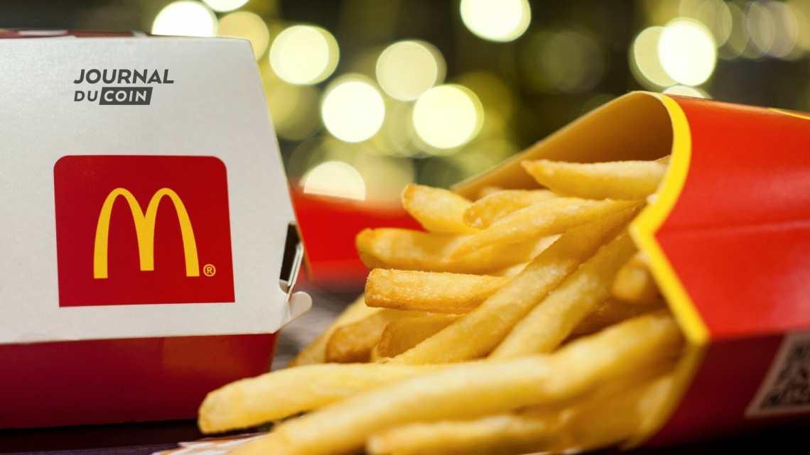 """""""Une grande frite et un NFT !"""" McDonald's se met à la Crypto avec un grand concours – Journal du Coin"""