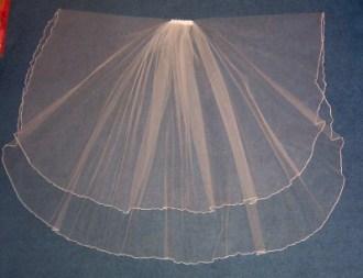 Oval Bridal Veil Shape
