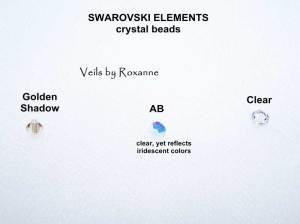 Swarovski bi-cone crystal beads