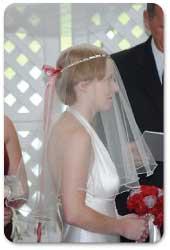 Scalloped Mantilla Bridal Veil