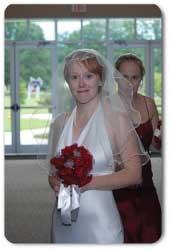 Scalloped Mantilla Wedding Veil