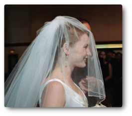 Blusher Wedding Veil