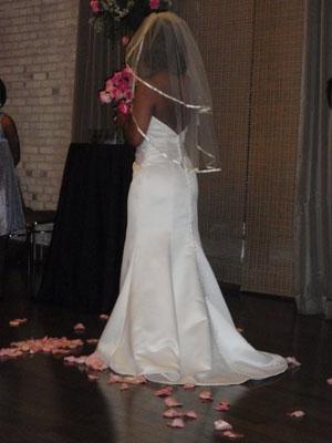 Elbow Length wedding veil