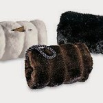 Faux fur muffs Fabulous Furs