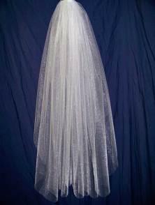 108 inch width illusion veil