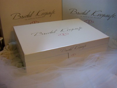 A Wedding Dress Preservation Kit for Bridal Gown Storage Heirloom ...