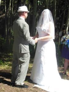 Roxanne's sister-in-law's veil