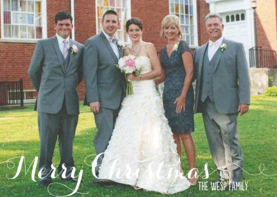 Christmas card of Bridal Gown Alterations
