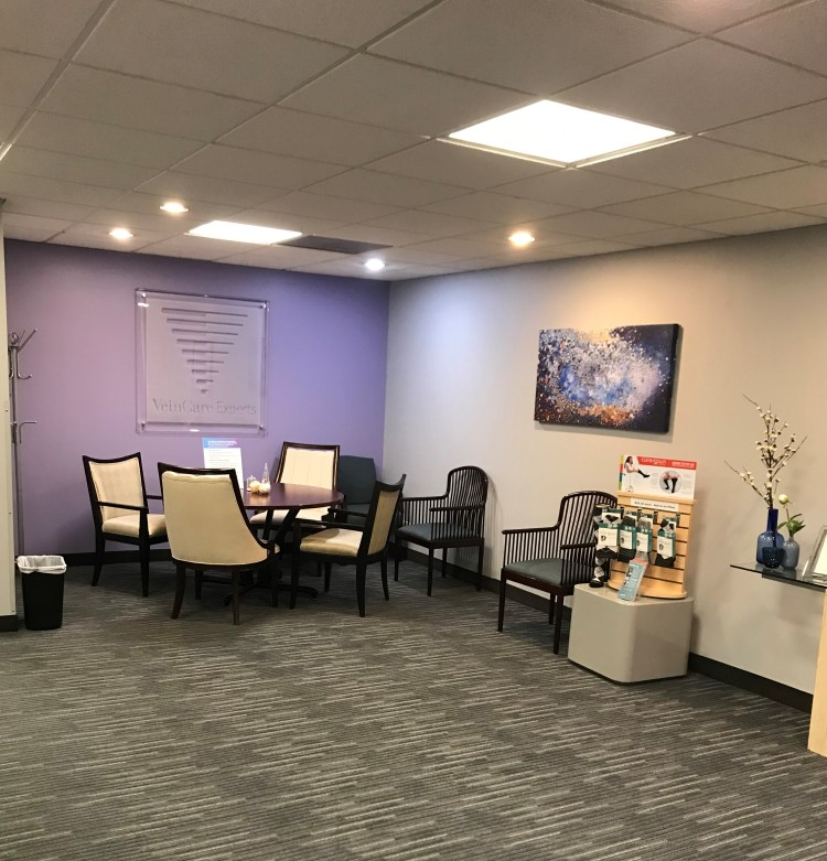 Veincare Experts-Arlington Heights office of our varicose vein specialists.