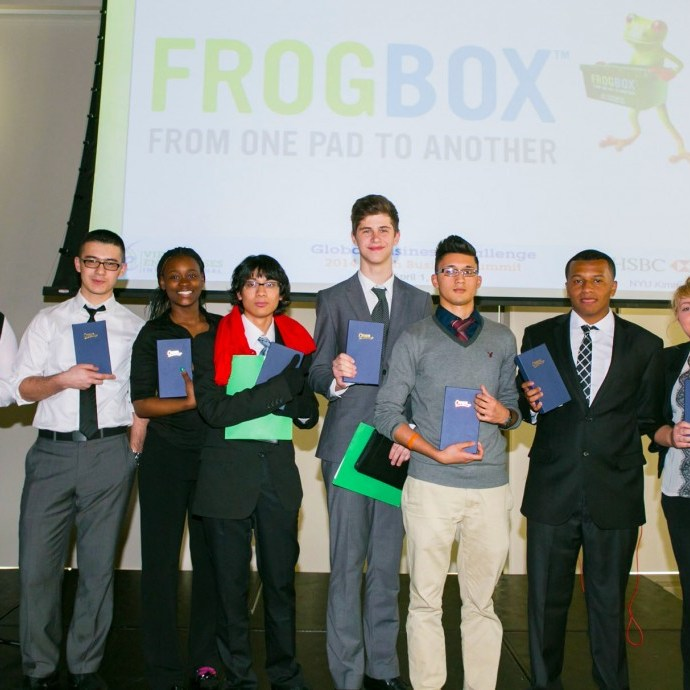 Virtual Enterprises International's Global Business Challenge 1st Place Winners