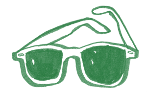 green-glasses