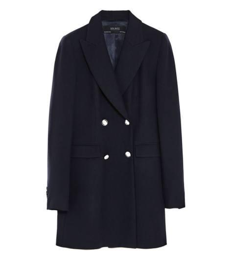 Click :: Doppelreihiger Mantel