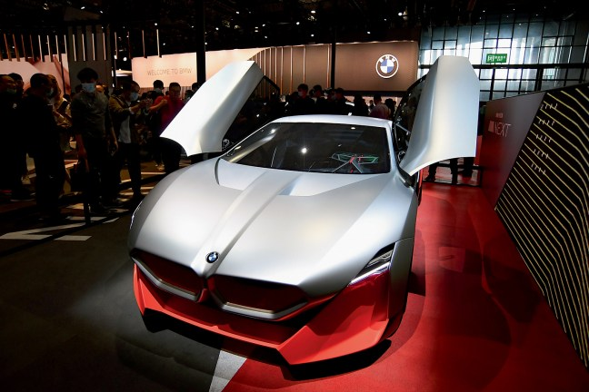 EM EVIDÊNCIA -BMW elétrica Vision M Next, no Salão Internacional do Automóvel de Xangai, em abril deste ano: mais Ásia, menos eurocentrismo -