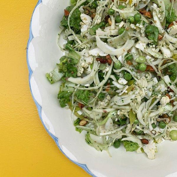 Fennikel salat med salsaverde