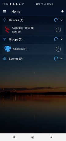 Magic Home App Devices Page for Nexlux LED Lights Review