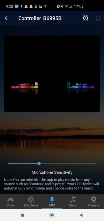 Magic Home App Microphone Music Sync for Nexlux LED Lights Review