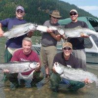 Предложение в Канаду, три рыбалки (лосось, щука и осетр). Июль 2018 с Фишинг Кэнэда Лонг