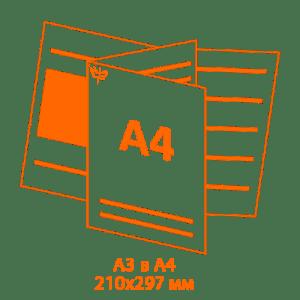 буклеты а4