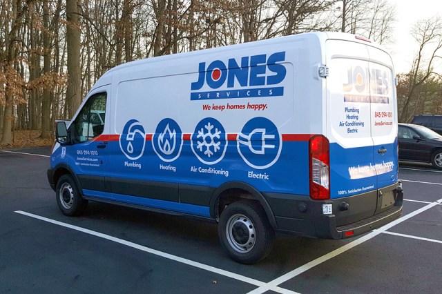 Jones truck