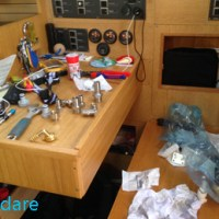 Vorbereitungen für die Atlantik Überquerung
