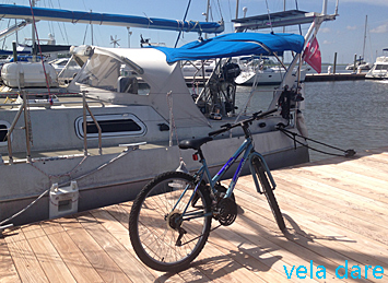 Bike-1 Liveaboard: stop segeln, start... amerika  veladare St Simons Island liveaboard Amerika Aluminium Boot