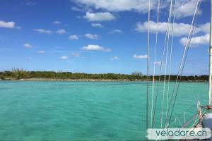 Mouillae de Royal Island, Eleuthera, Bahamas