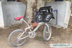vélo à musique