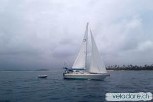 vela dare entre Nargana et Holandes Cays