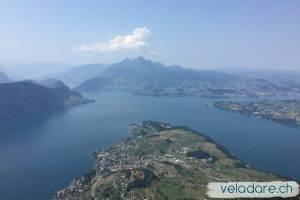 Vue sur le lac des 4 Cantons depuis le Rigi