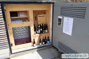 coffre à vin du Sentier du vin de Weinfelden