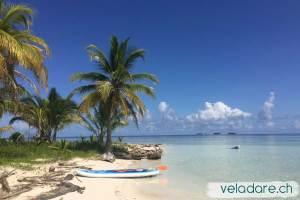 Stand Up Paddle ausprobieren und relaxen in den San Blas Inseln