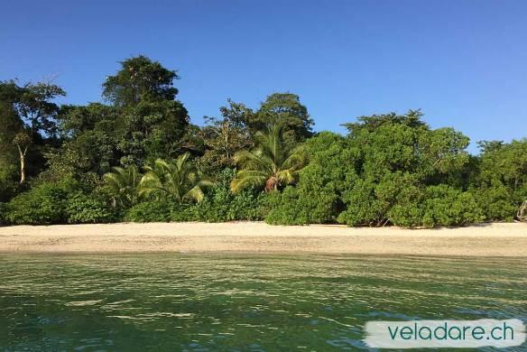 Une nouvelle plage où nous sommes les premiers à laisser nos empreintes dans le sable