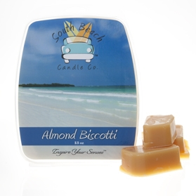 Almond Biscotti Scented Shell