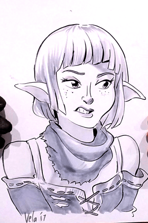 She was a dragon age character