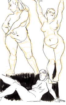 Arthouse Hotel life drawing