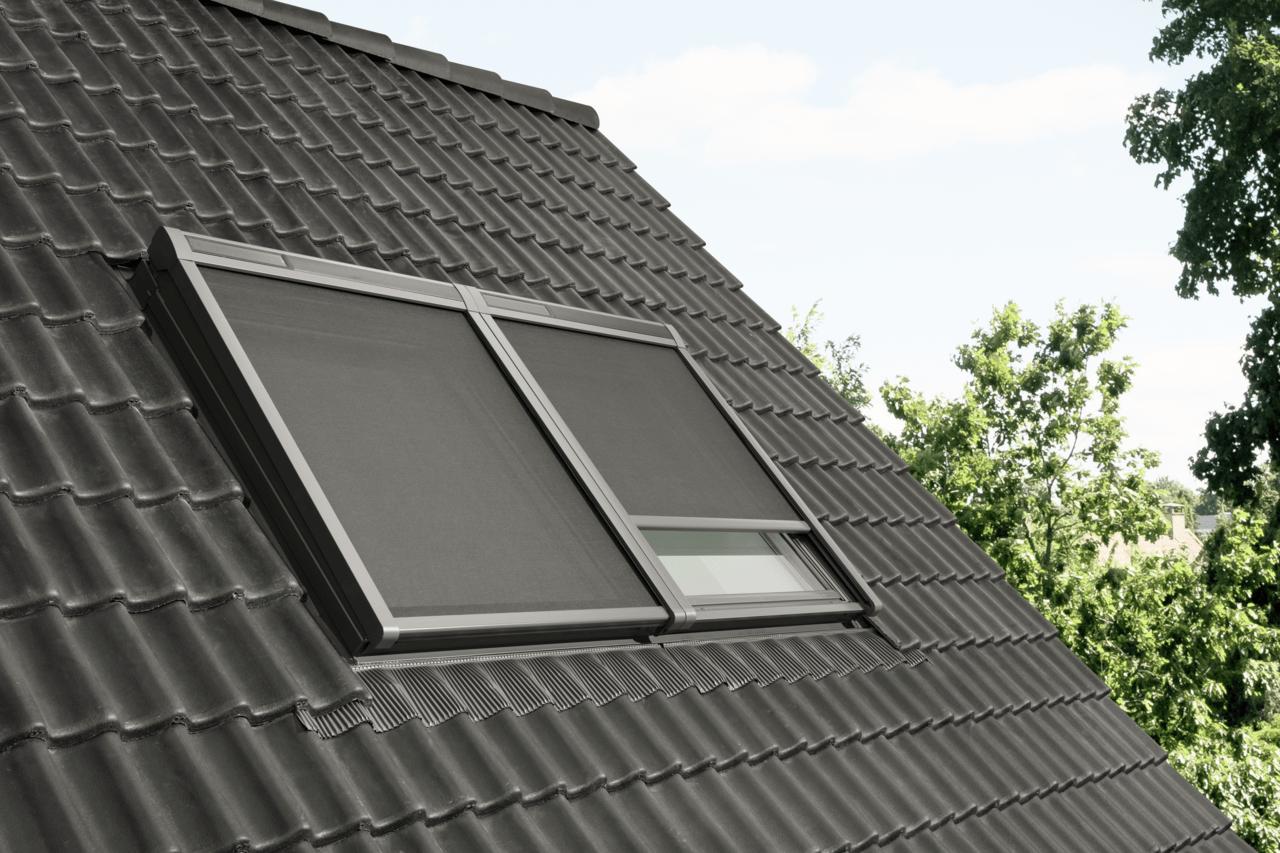 pare soleil pour fenetre de toit velux