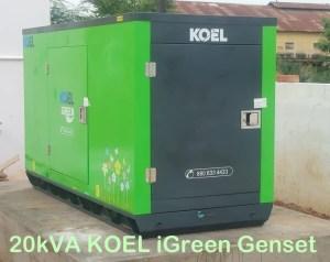 20 kva generator price