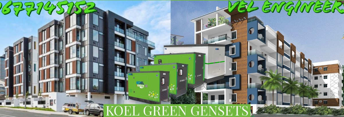Genset Dealers in Chennai VEL Engineers