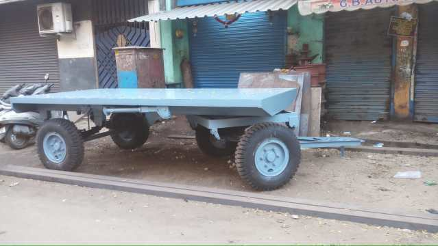 Two Wheeler Trolley for Gensets