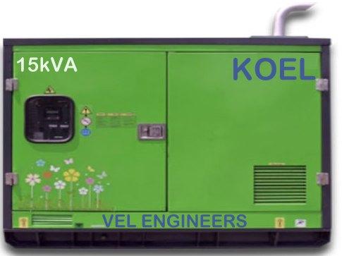 15kVA Kirloskar Generator Prices in Chennai