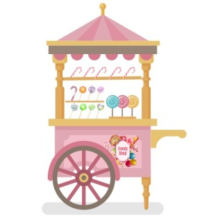 Lollipops stand