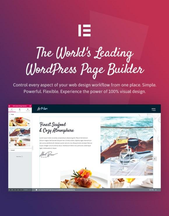 LeMar - Seafood Restaurant WordPress Theme - 4
